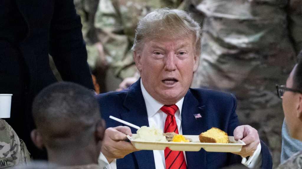 Trump Pays Surprise Visit to US Troops in Afghanistan