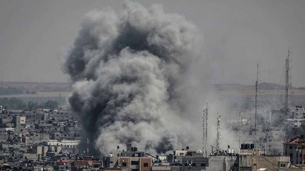 'Israeli' Warplanes Strike Gaza after Palestinian Teen's Martyrdom