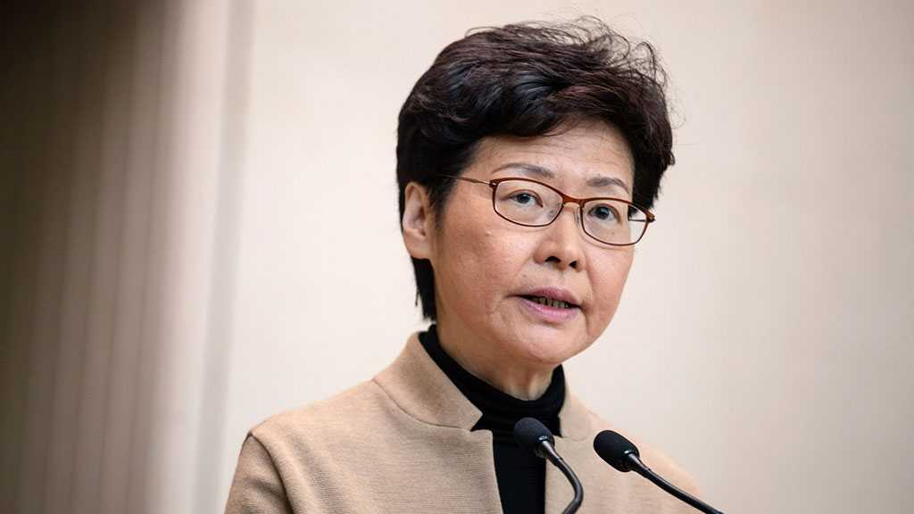 Hong Kong's Leader Slams US over New Legislation