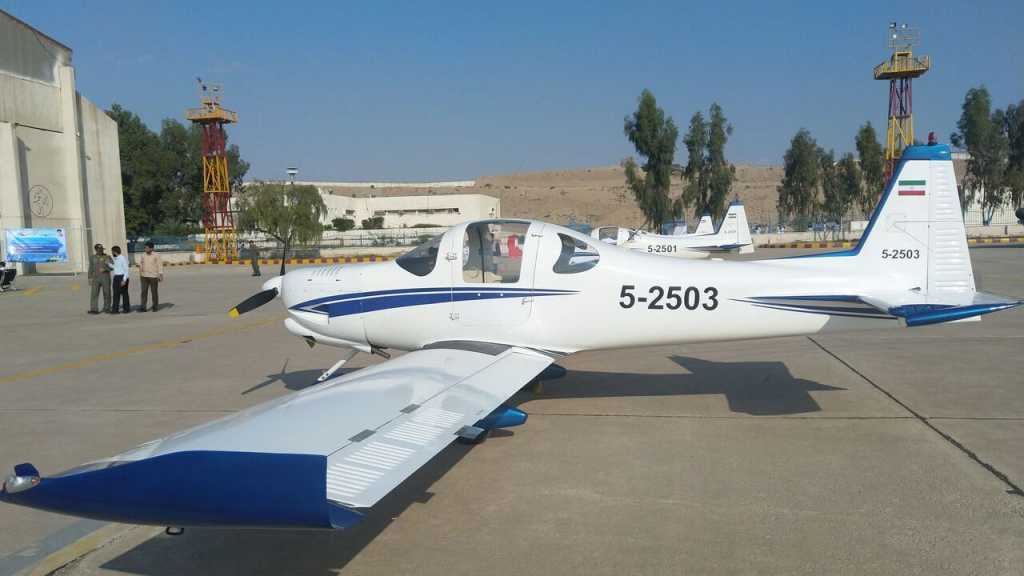 Iranian Navy's Aviation Fleet Introduces Three Homegrown Ultra-light Aircrafts