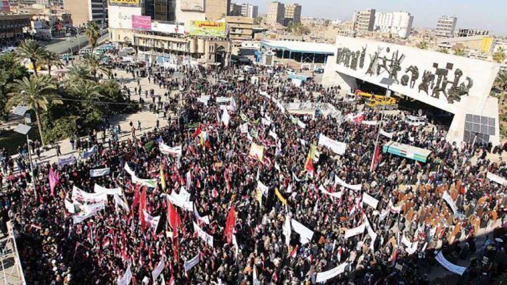 Iraqis Hold Massive Rally in Support of Religious Authority