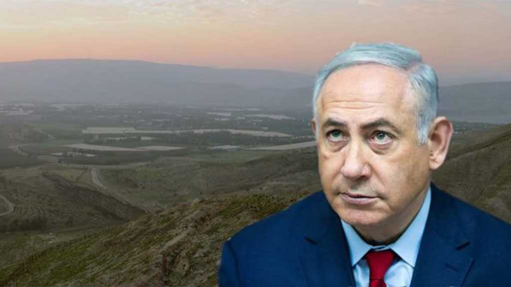 Bibi: «Israel» Has «Full Right» to Annex Strategic Jordan Valley