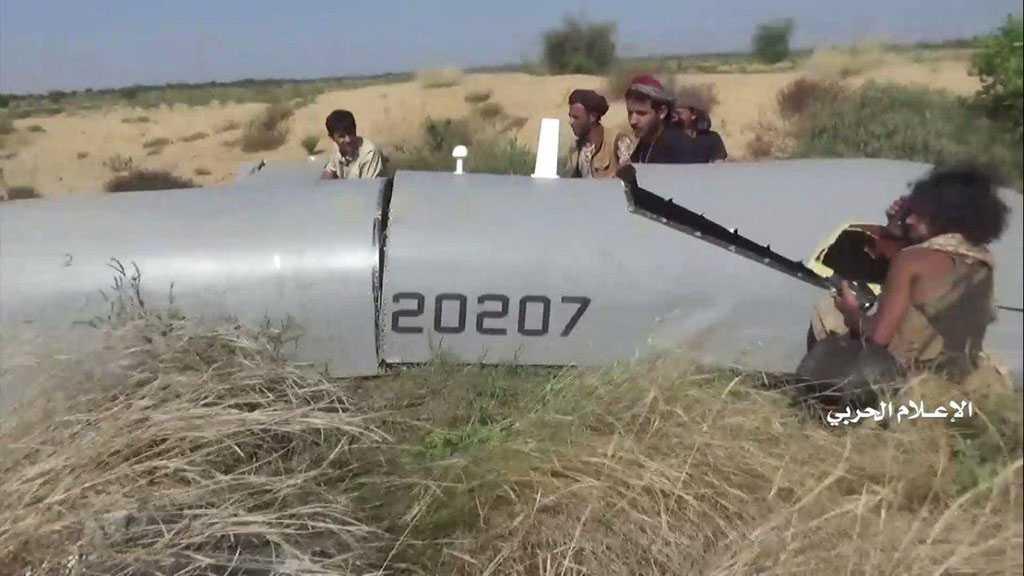 Yemeni Army Shoots Down Saudi Spy Drone over Najran