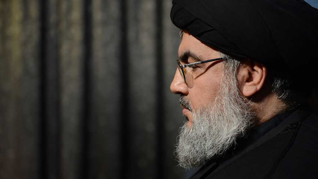 Sayyed Nasrallah to Deliver A Speech Regarding Political Developments on Friday at 17:30 Beirut Time