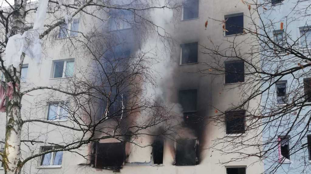 At Least 25 Injured In German Apartment Block Blast