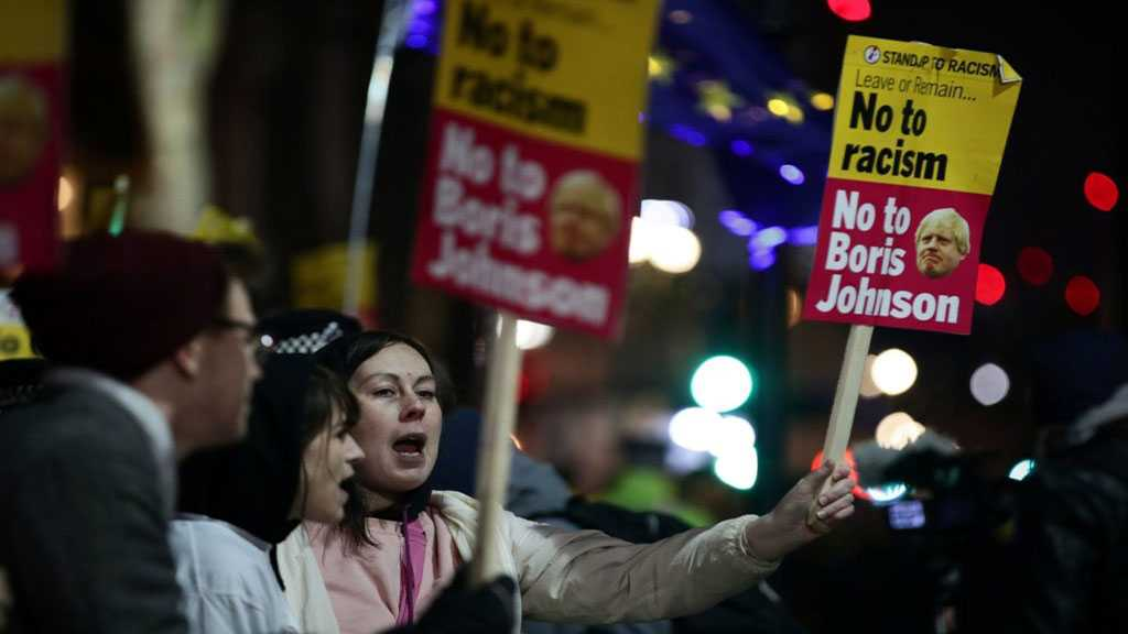 'Not My Prime Minister': Anti-Johnson Rallies in London after Election Result