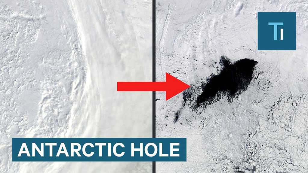 A Huge Cryptic Entrance «Reappears» on Maps in Antarctica 12 Years Later