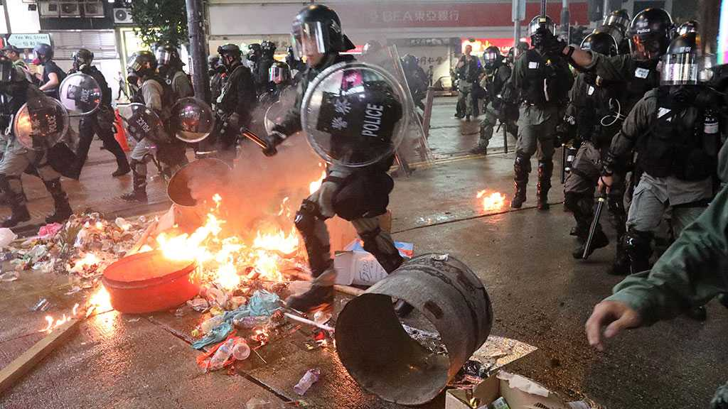 Fresh Violence Breaks Out in Hong Kong as Lam Holds Talks in Beijing