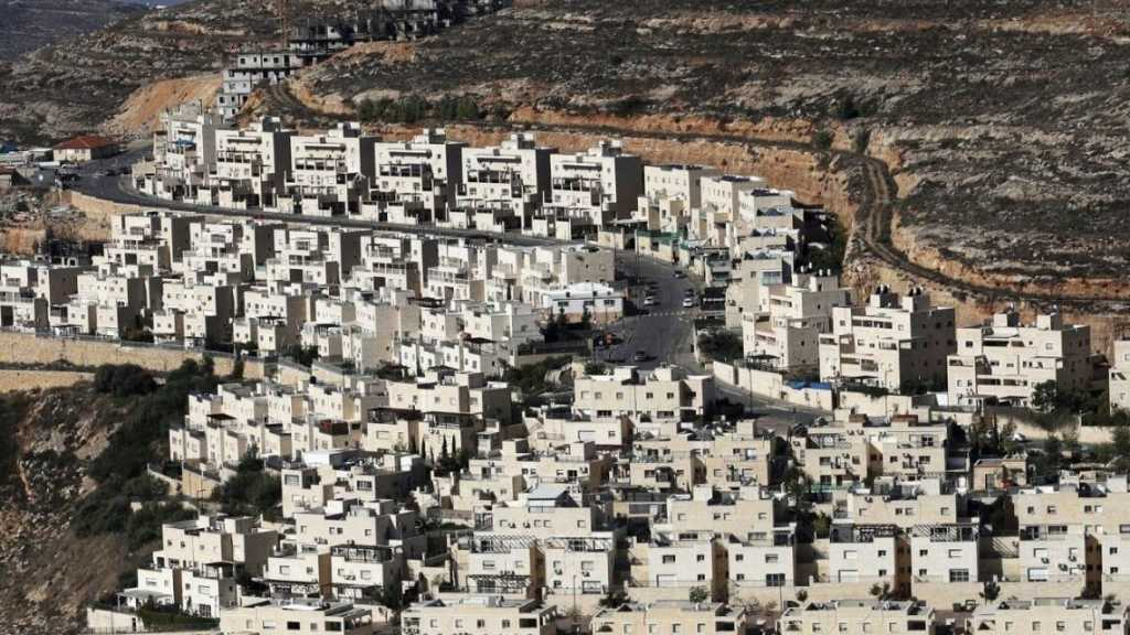 'Israel' Advanced Plans for 22,000 Settler Units in West Bank in 3 Years
