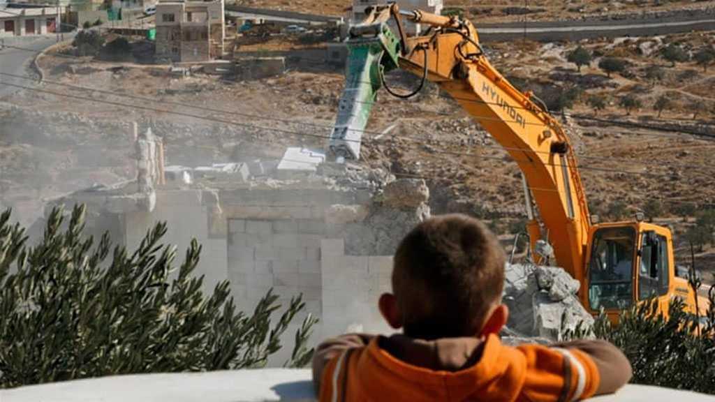 'Israeli' Demolishing of Palestinian Houses Policy of Ethnic Cleansing