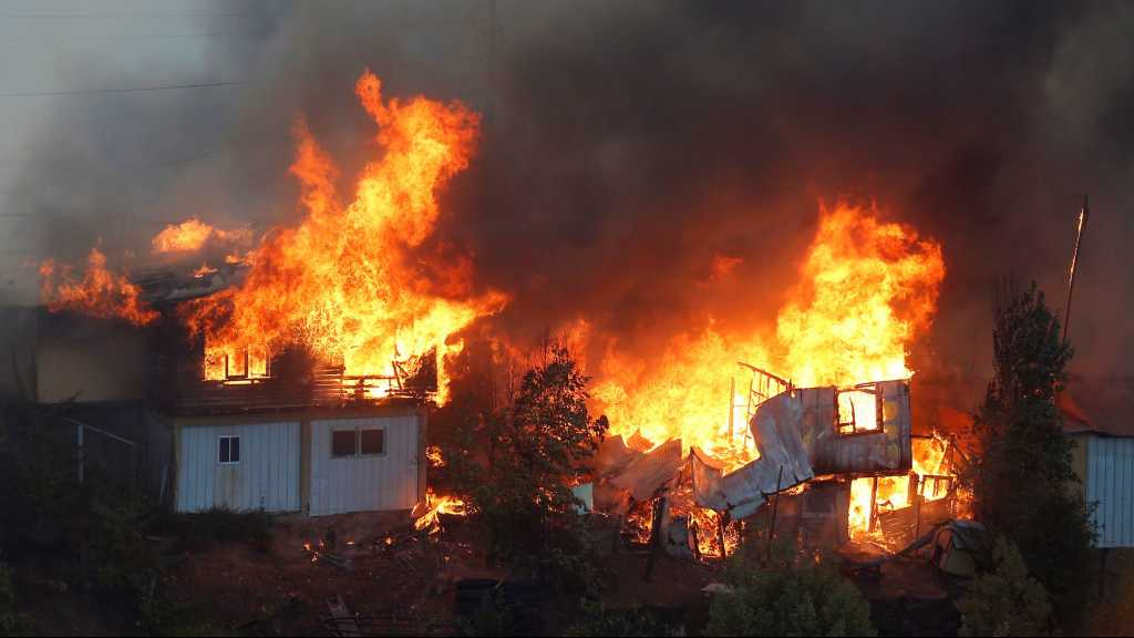 Chile Fire: 100+ homes destroyed on Christmas Eve