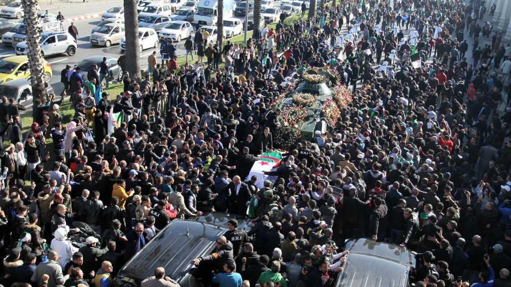 Thousands Mourn Algerian Army Chief Gaid Salah