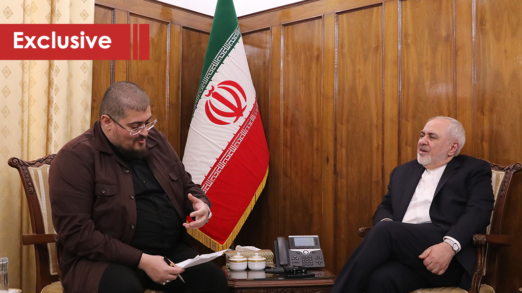Zarif to Al-Ahed: Martyr Soleimani's Assassination to Boost the Resistance's Determination