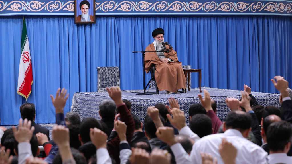 Imam Khamenei Slams America's Crime in Iraq, Says It is Taking Revenge for Defeating Daesh