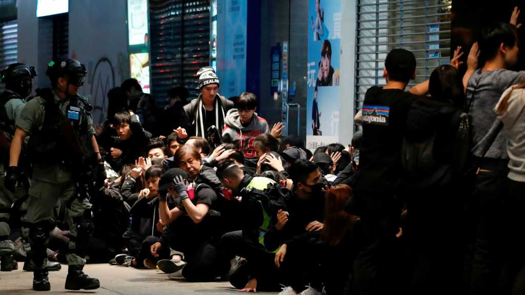 Massive Hong Kong Rally Ends in Police Clashes