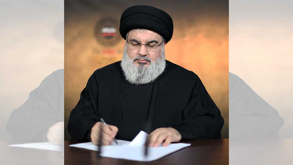 Sayyed Nasrallah to Deliver a Speech in a Memorial Ceremony Held for Martyrs Soleimani, Al-Muhandis