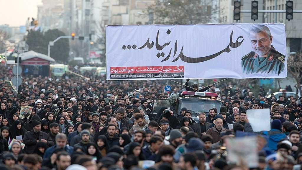Millions of Lovers Pack Tehran Streets to Pay Homage to Martyr Soleimani