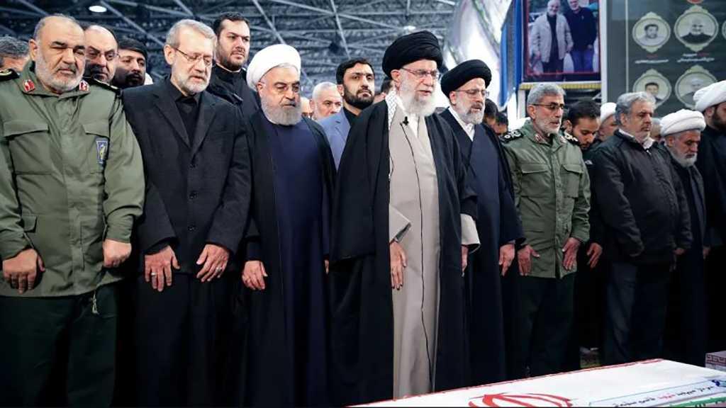 Imam Khamenei Leads Ritual Prayers at General Soleimani's Funeral