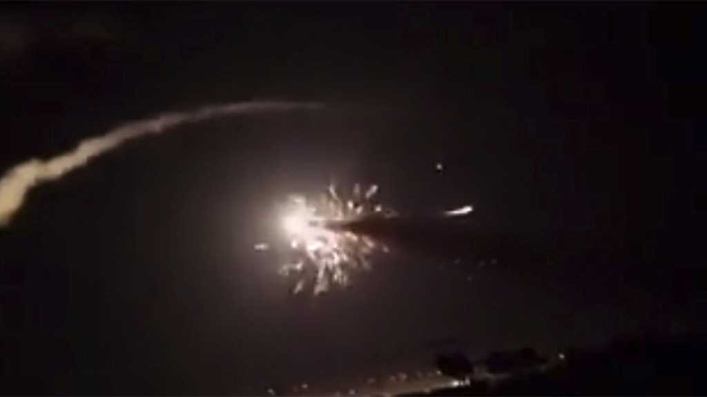 Syrian Air Defenses Repel 'Israeli' Aggression on T4 Airport, Shoot down A Number of Missiles