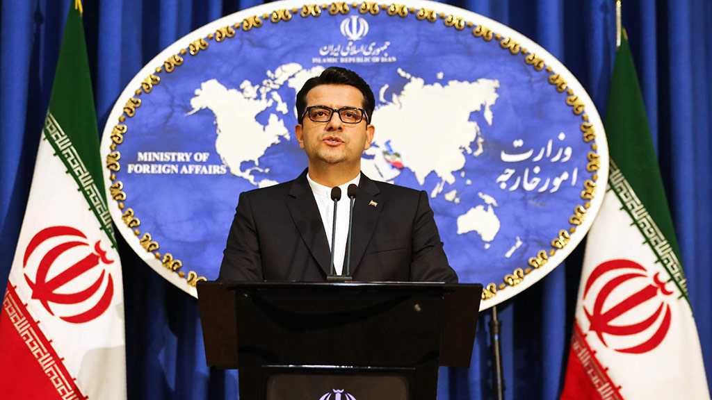 Iran's FM Spox: Bringing JCPOA into Dispute Rooted in Weakness