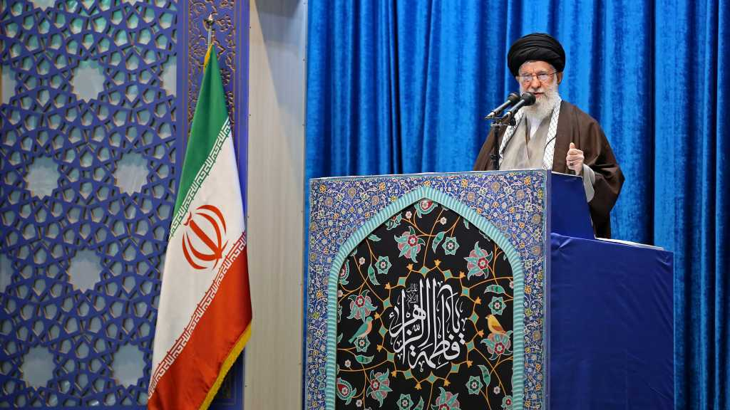 Imam Khamenei: Iranians' Cries for Revenge Were the Fuel of Missiles that Leveled Ain Al-Assad
