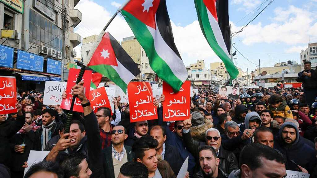 Jordan Parliament Passes Draft Law to Ban Gas Imports from «Israel»
