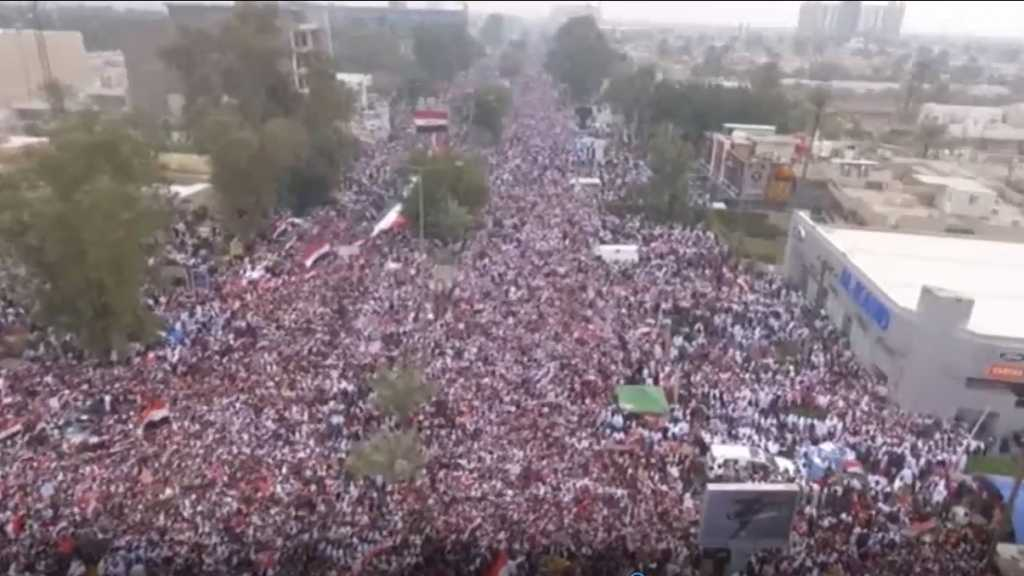 United against US Presence in Iraq:Hundreds of Thousands Take to the Streets