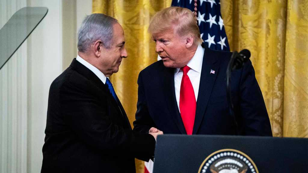 Trump Announces His Middle East Plan, Palestinians Call It 'Slap of the Century'