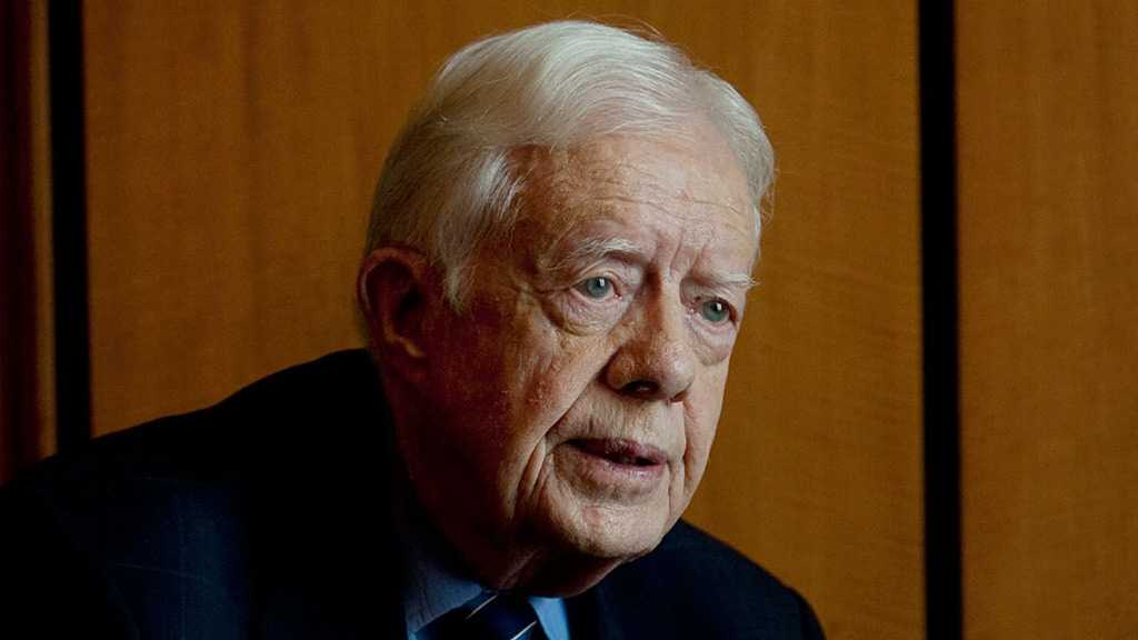 Ex-US President Jimmy Carter Calls on Int'l Community to Stop Trump's «Deal of Century»