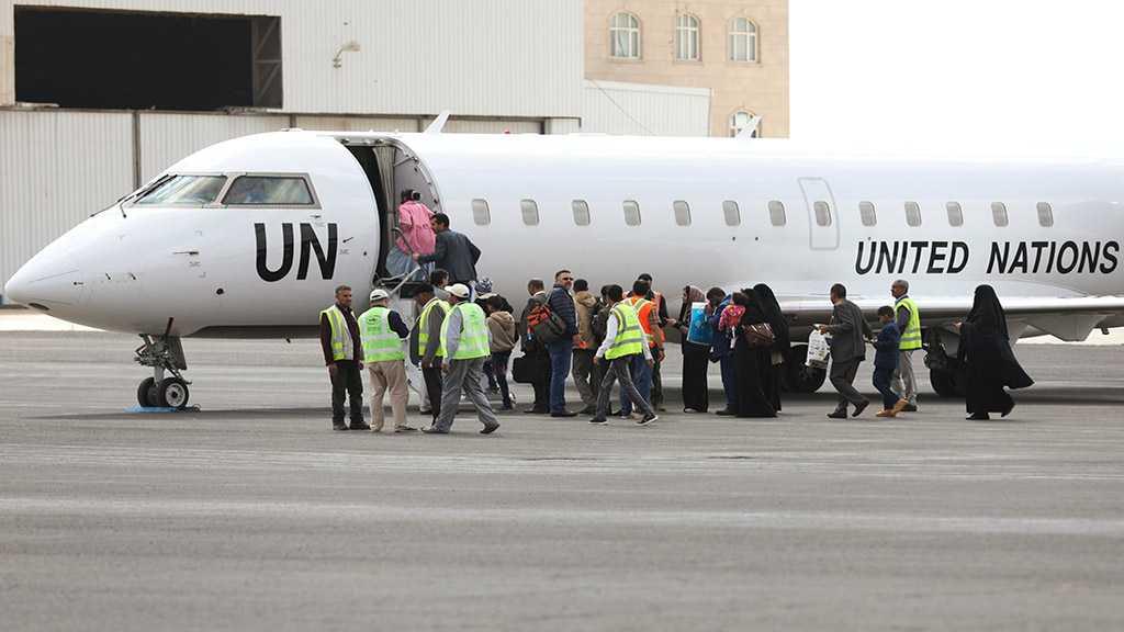 First 'Mercy Flight' Leaves Yemen's Sanaa with Children Onboard