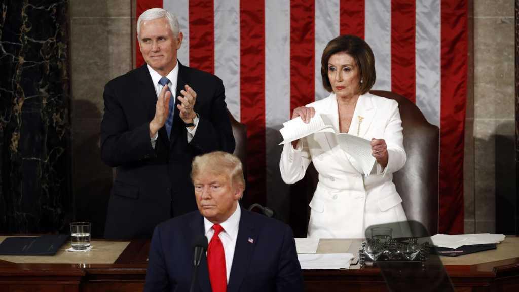 Trump Uses SOTU to Campaign, Pelosi Rips Up Speech