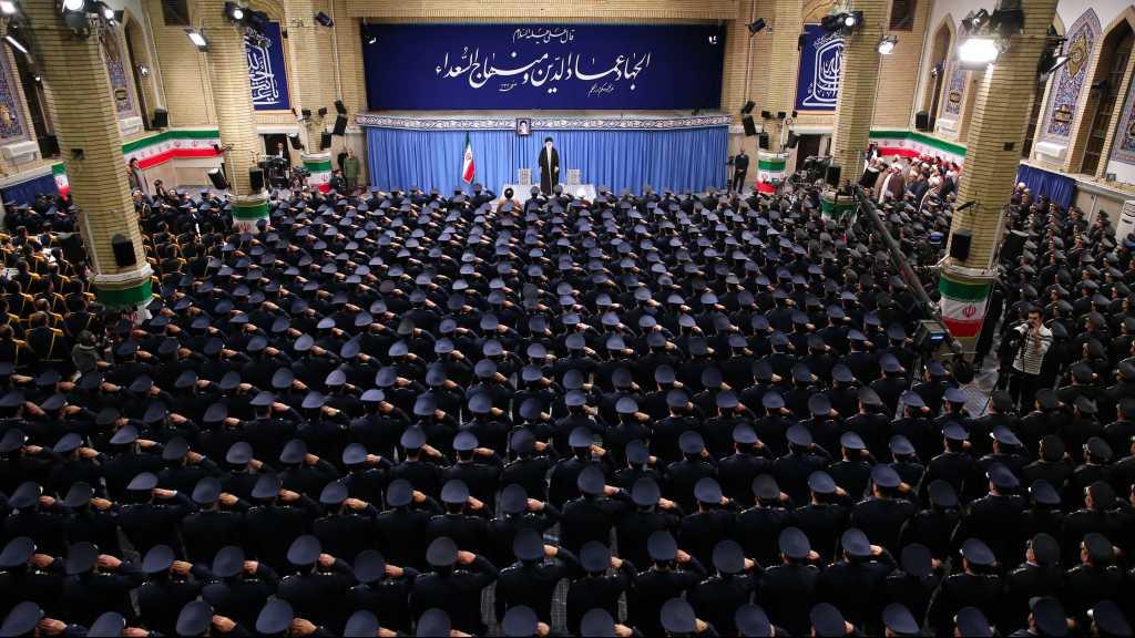 Imam Khamenei Calls for Strengthening Iran's Military Power to Prevent Enemies' Threats
