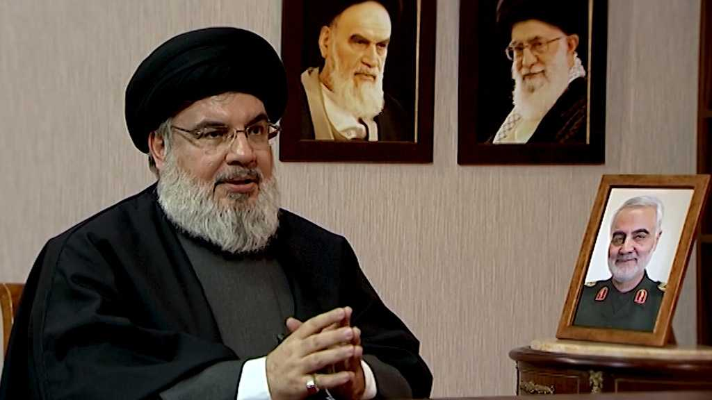 Sayyed Nasrallah Discloses History of Relationship with Martyr Qassem Soleimani