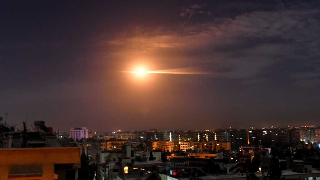 Syrian Air Defenses Intercept Hostile Targets over Damascus, Down a Number of Them
