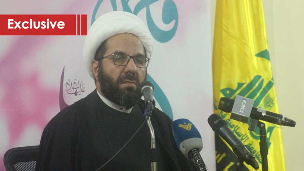 Sheikh Damouch to Al-Ahed: Martyrdom of Leaders Gives the Cause New Impetus