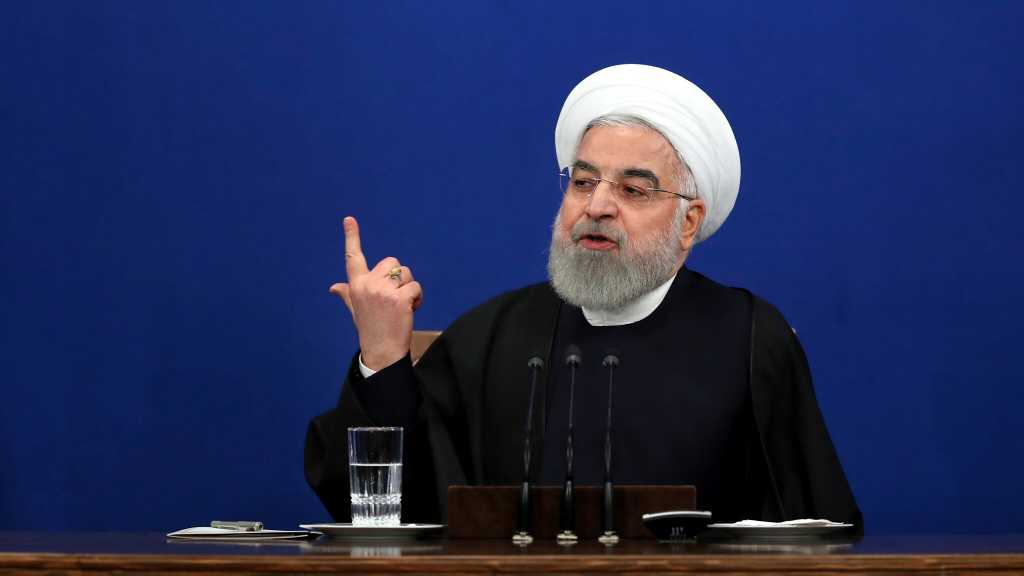 Rouhani: US 'Maximum Pressure' Policy Failed, We'll Never Negotiate from Position of Weakness