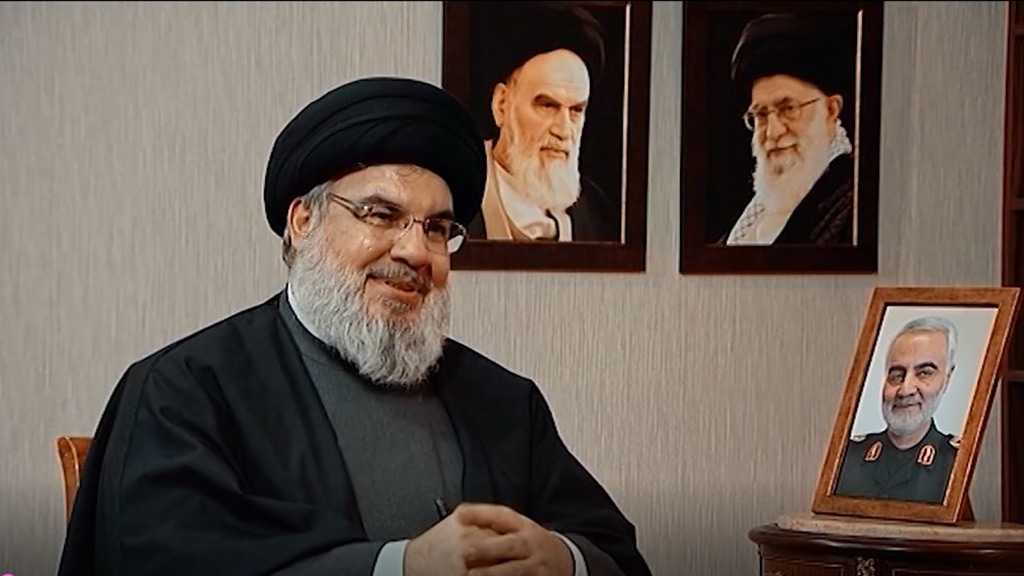 Sayyed Nasrallah: I'd Tell the Angel of Death to Take Me And Leave Soleimani