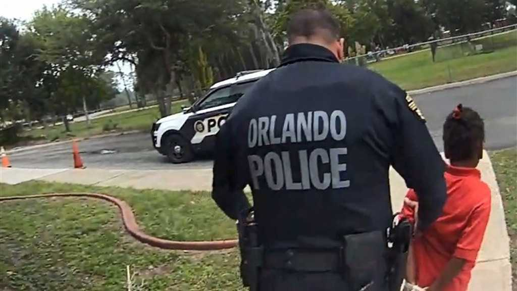 US Policeman Handcuffs, Arrests 6yo Girl at School