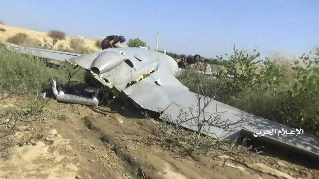 Yemeni Forces Shoot down Saudi Spy Drone in Najran