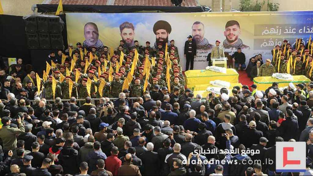 Hezbollah Bids Farewell to Its Martyrs in Massive Funerals
