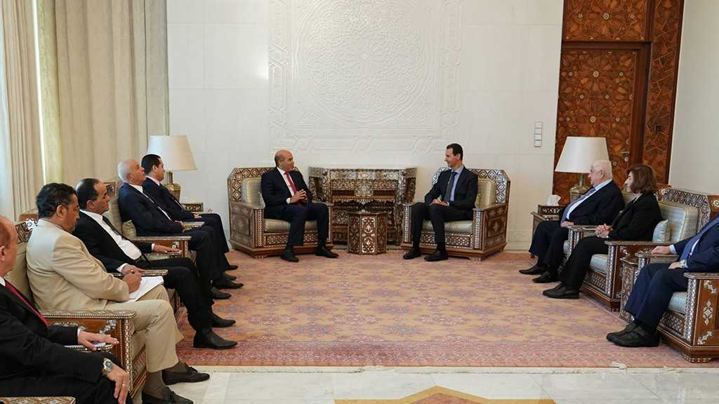 Syria's Assad to Libyan Delegation: War Against Terrorism Isn't Battle of Syria, Libya Only