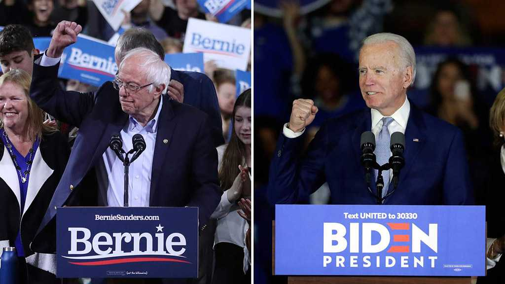 Strong Turnout for Biden, Sanders on Super Tuesday