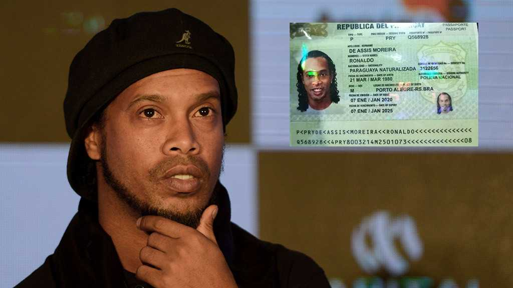 Football Star Ronaldinho Arrested In Paraguay after Fake Passport Claims