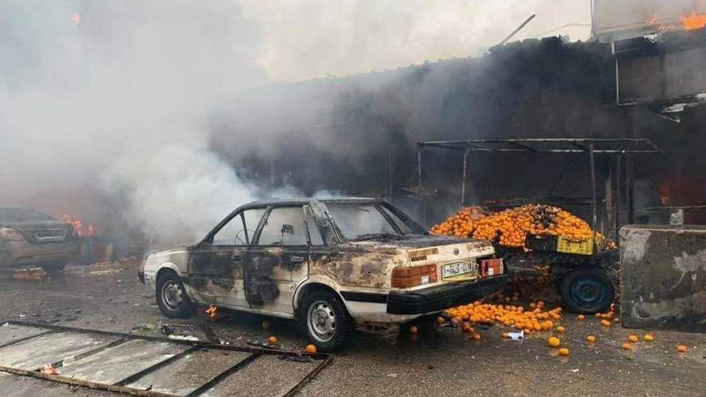 Gaza Camp Fire Kills 9, Injures 58