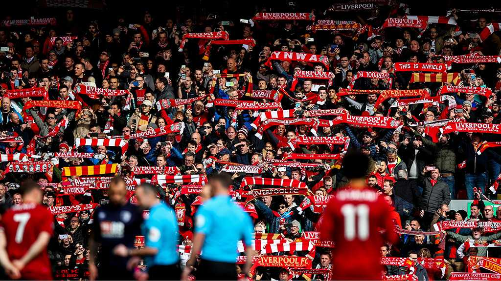 Liverpool Could Celebrate Title with No Fans