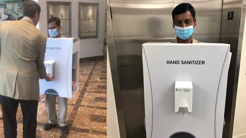 Saudi Aramco Slammed for Human Hand Sanitizer