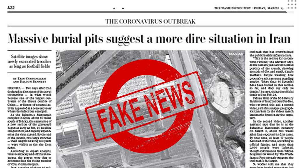 Washington Post Hypes False News on Mass 'Burial Pits' for Coronavirus Victims in Iran