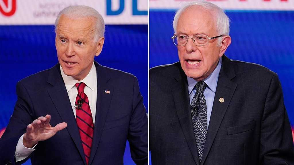 Biden-Sanders Vote Proceeds in 3 US States