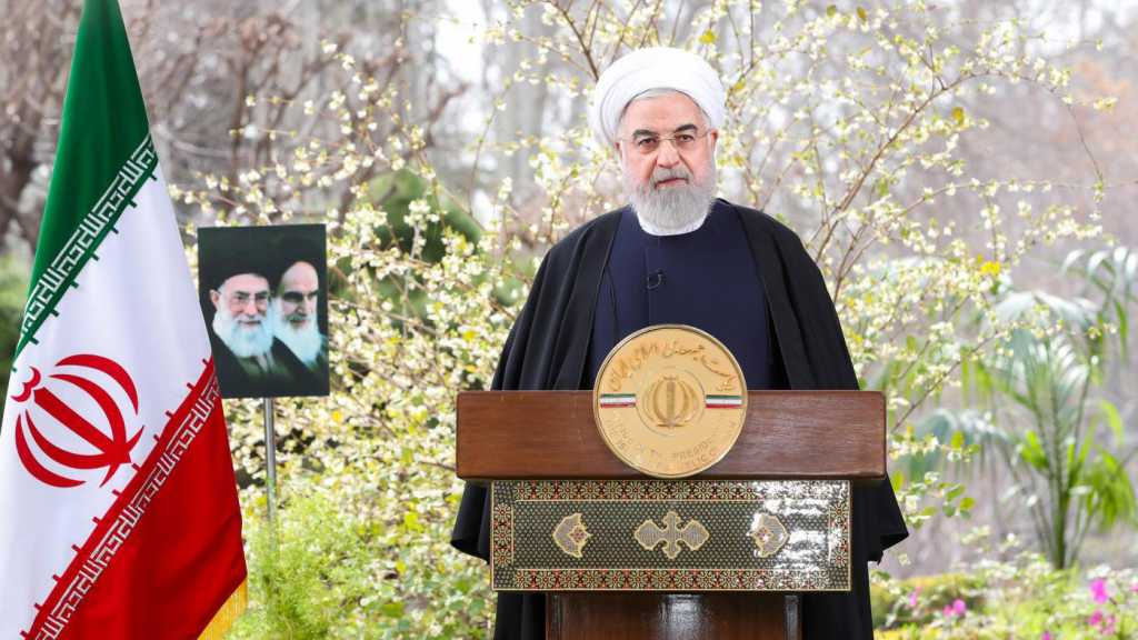 Rouhani: US Sanctions Failed to Force Iran to Submit to Pressure