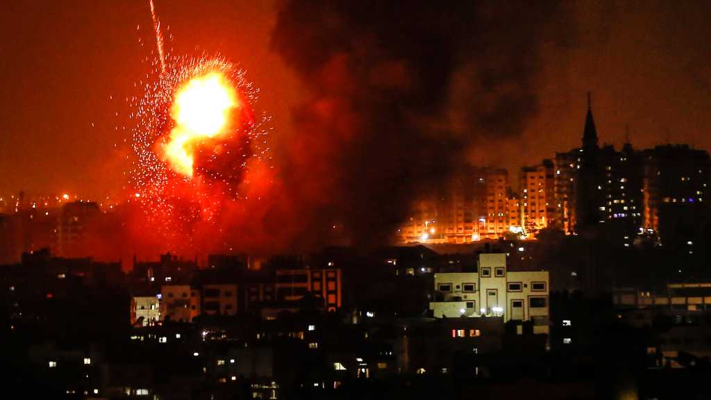 'Israeli' Warplanes Bomb Gaza Strip